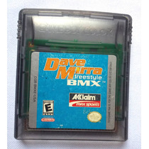 Dave Mirra Freestyle Bmx - Juego Gameboy