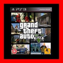 Gta V Grand Theft Auto V Ps3 + Regalo Oferta !!!