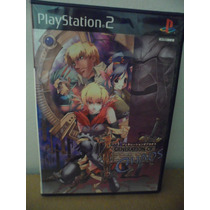 Playstation Ps2 Generation Of Chaos Game Japones Rpg Anime