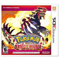 Pokemon Omega Ruby - Nintendo 3ds Nuevo Blakhelmet Sp