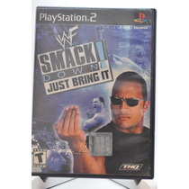 Wwf (wwe) Smack Down Just Bring It Playstation 2 Ps2