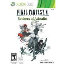 Final Fantasy Xi: Solicitantes De Adoulin - Xbox 360