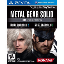 Metal Gear Solid Hd Collection Ps Vita Nuevo Y Sellado