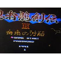 Ninja Gaiden 3 De Nintendo Famly Grand Juego