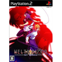 Melty Blood Act Cadenza Ps2 Japones