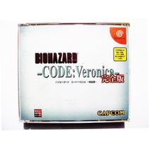 Biohazard Code Veronica Japones Sega Dreamcast Resident Evil