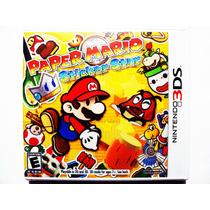 Páper Mario Nuevo - Nintendo 3ds ( Sticker Star )