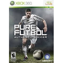 Pure Futbol Nuevo Sellado Xbox 360