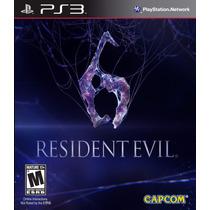 Resident Evil 6 Ps3 Pakogames