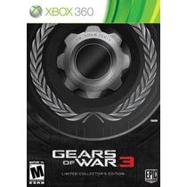 Gears Of War 3 Limited Edition Xbox 360 Nuevo Blakhelmet Sp
