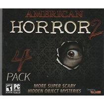 American Horror Volumen 2 Hidden Object 4 Paquete
