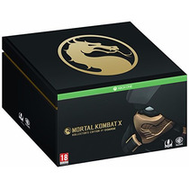 !!! Mortal Kombat X Kollectors Edition Para Xbox One Wg !!!