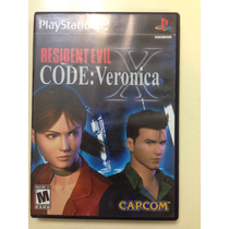 Juego Ps2 Resident Evil X Code Verónica