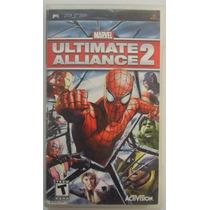 Marvel Ultimate Alliance 2 Para Psp