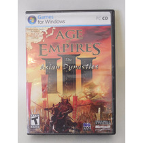 Juego Para Pc Age Of Empires The Asian Dynasties D513