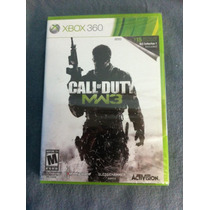 Call Of Duty: Modern Warfare 3 Con Dlc ( Xbox 360 ) Nuevo