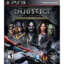 Ps3 Injusticia Ultimate Edition