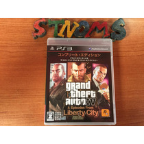 Grand Theft Auto 4 Y Episodios De Liberty City / Japones