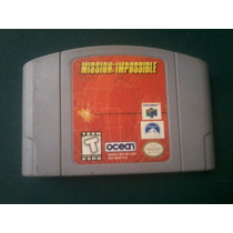 Mission Impossible Mision Imposible Juego Casette Cartucho