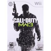 Call Of Duty Mw3 Modern Warfare 3 Wii Nuevo Blakhelmet E
