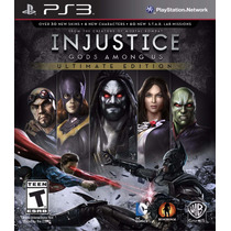 Injustice: Gods Among Us Ultimate Edition Ps3