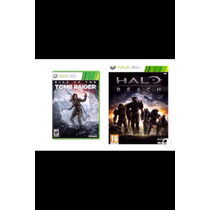 Rise Of The Tomb Raider & Halo Reach En $150 - Jdcc