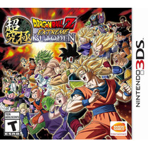 Dragon Ball Z Extreme Butoden Nintendo 3ds Blakhelmet Sp