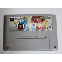 Street Fighter Zero 2 Super Nintendo Japones