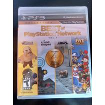 Best Of Playstation Network Vol 1, 4 Juegos En 1 Ps3 Sellado