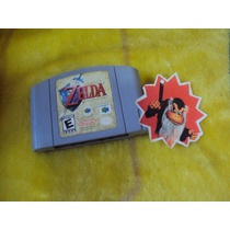 The Legend Of Zelda Ocarina Of Time N64 (guarda Partidas)