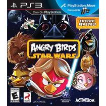 Ps3 - Angry Birds Star Wars - Subasta 1 Peso - Nuevo - Ag