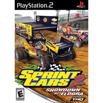Sprint Cars 2: Showdown At Eldora Ps2 Videojuego Seminuevo