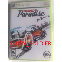 Burnout Paradise Xbox 360 Original