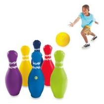 Discovery Kids Jumbo Hinchable 7 Piezas Juego De Bolos