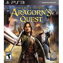 Ps3 Move Lord Of The Rings Aragorns Quest (acepto Mp)