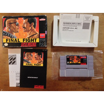 Final Fight Completo Para Super Nintendo / Snes Buen Estado