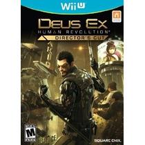 Deus Ex Human Revolution: Corte Del Director - Nintendo Wii