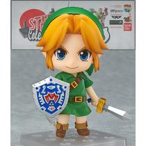 En Stock Link Zelda Majoras Mask 3ds Nendoroid Figura Juego