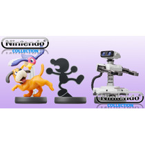 Amiibo Retro,r.o.b,duck Hunt,game & Watch.nitendo Collection