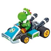 Carrera 7 Mario Yoshi 2,4 Ghz Servo Tronic Kart 01:16 Escala