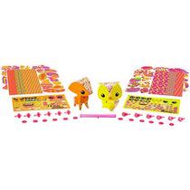 Amigami Fox Y Del Búho Figuras - Paquete De 2