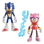 Tomy Pequeña Figura 2 Pack- Sonic Y Amy