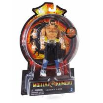 Tb Mortal Kombat Jonny Cage ~6 Action Figure