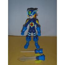Figura Megaman Battle Network Electronico Completo Luz Sonid