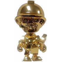 Team Fortress 2 Portable Mercs Mini Figure Gold Engineer