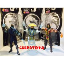 --- Mortal Kombat X Scorpion, Sub-zero Y Raiden Mezco ---