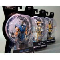 Mortal Kombat X 10 Series 01 Sub-zero Scorpion Wii X-box Ps4