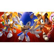 Figuras De Sonic Boom Fireand Ice Reloj De Sonic