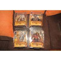 Set Figuras Nuevas God Of War Dc Kratos Zeus Hades Hercules