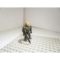 Mega Bloks Halo Spartan Eva Verde
